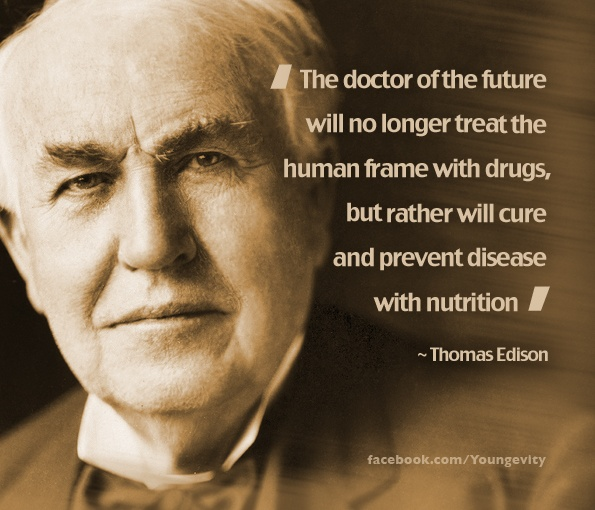 image of Thomas Edison quote