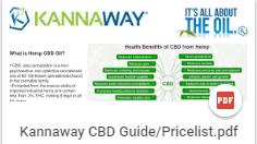 image of free Kannaway CBD Guide PDF